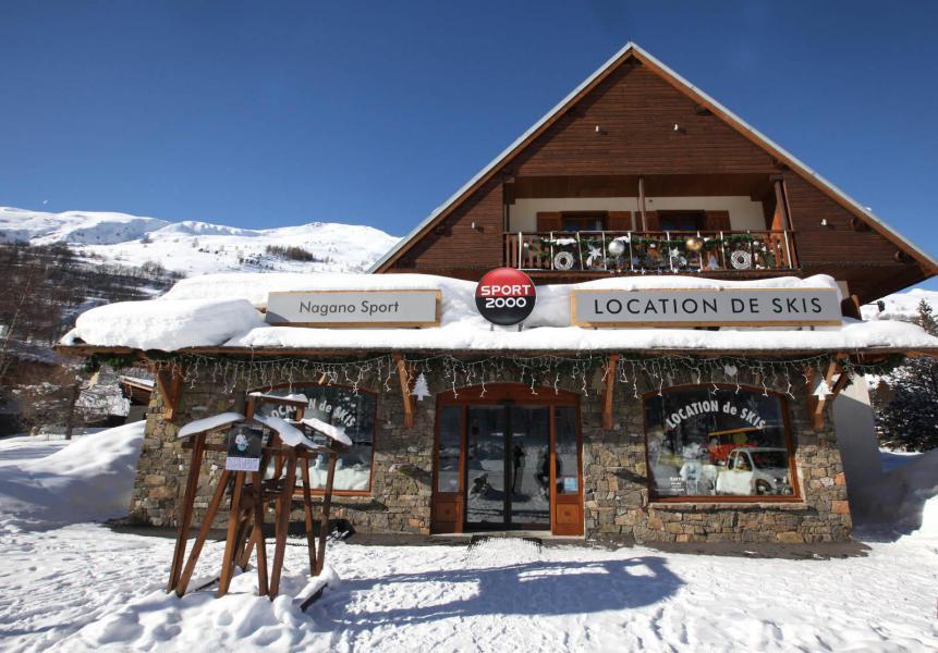 Аренда на лыжном курорте Résidence le Barillon - Valloire - зимой под открытым небом