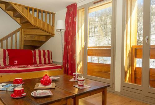 Аренда на лыжном курорте Апартаменты 2 комнат кабин 6 чел. - RESIDENCE LE HAMEAU DE VALLOIRE - Valloire - апартаменты