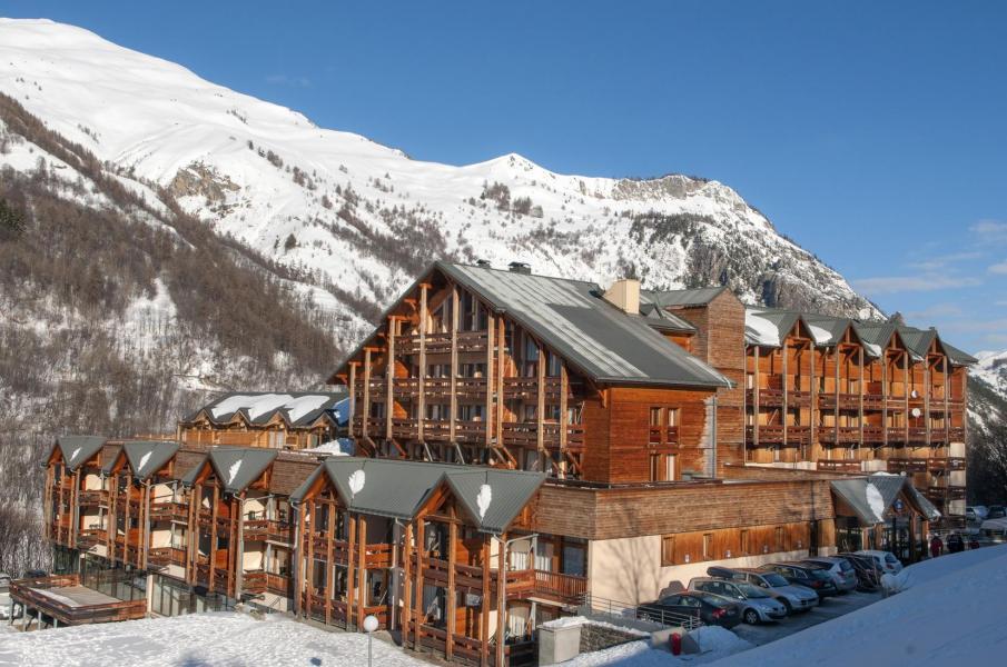 Urlaub in den Bergen Résidence le Hameau de Valloire - Valloire - Draußen im Winter