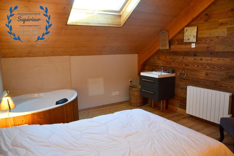 Rent in ski resort 5 room apartment 8 people (superior) - Résidence le Hameau de Valloire - Valloire - Bedroom