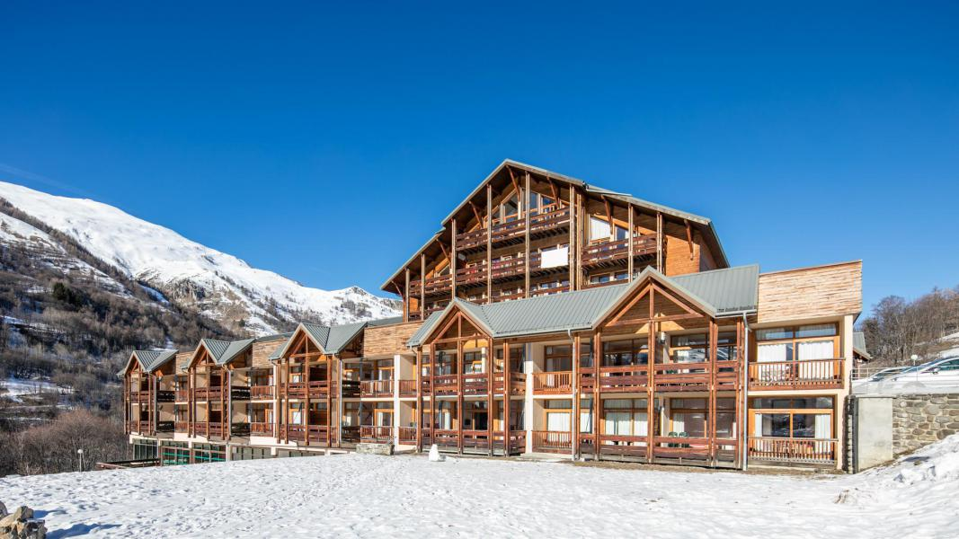 Vacances en montagne Résidence le Hameau de Valloire - Valloire - Extérieur hiver