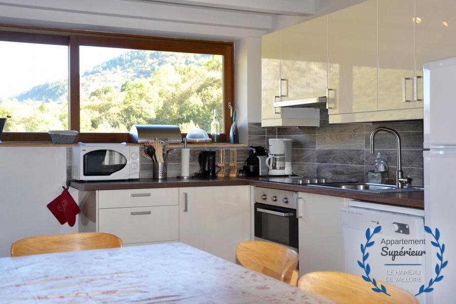 Location au ski Appartement 5 pièces 8 personnes (supérieur) - Résidence le Hameau de Valloire - Valloire - Cuisine