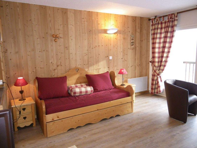 Аренда на лыжном курорте Квартира студия кабина для 4 чел. (PRAZ14) - Résidence le Praz - Valloire