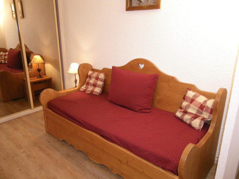 Аренда на лыжном курорте Квартира студия кабина для 4 чел. (PRAZ14) - Résidence le Praz - Valloire - Раскладной диван