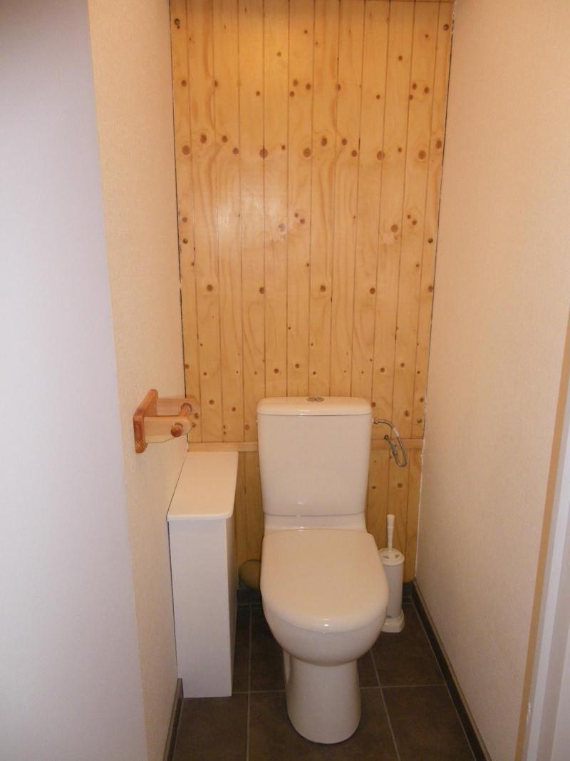 Location au ski Studio cabine 4 personnes (PRAZ14) - Résidence le Praz - Valloire - Wc