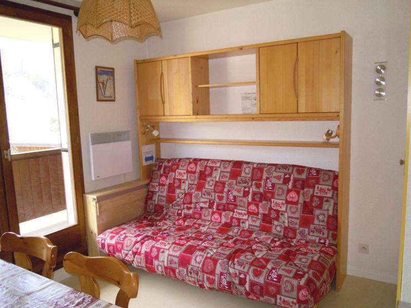 Аренда на лыжном курорте Квартира студия кабина для 4 чел. (7) - Résidence le Thymel - Valloire