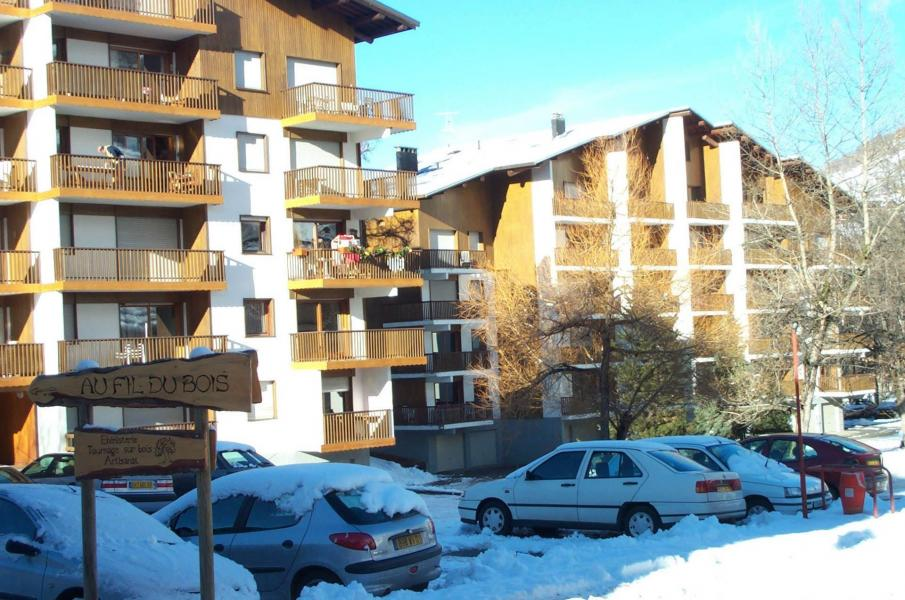 Location au ski Residence Le Vieux Moulin - Valloire - Extérieur hiver