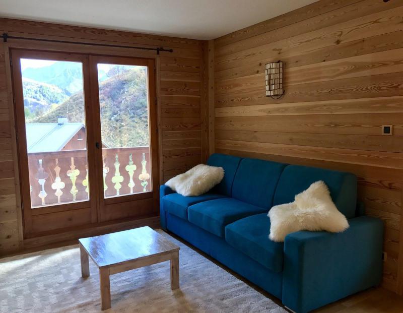 Аренда на лыжном курорте Апартаменты 2 комнат 6 чел. (83) - Résidence les Arolles - Valloire - Диван-кровать
