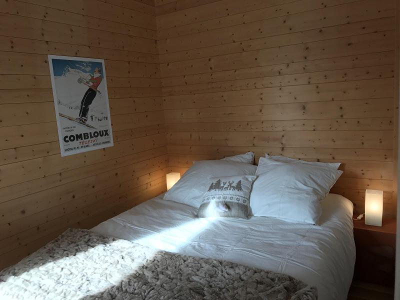 Аренда на лыжном курорте Апартаменты 2 комнат 6 чел. (83) - Résidence les Arolles - Valloire - Двухспальная кровать