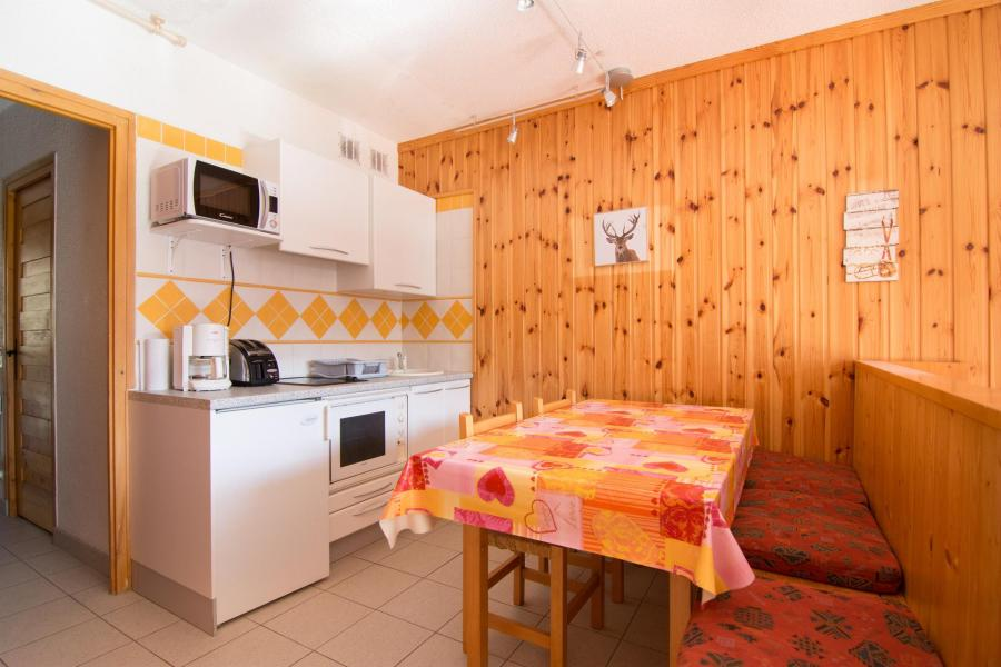 Аренда на лыжном курорте Квартира студия кабина для 4 чел. (47) - Résidence les Arolles - Valloire
