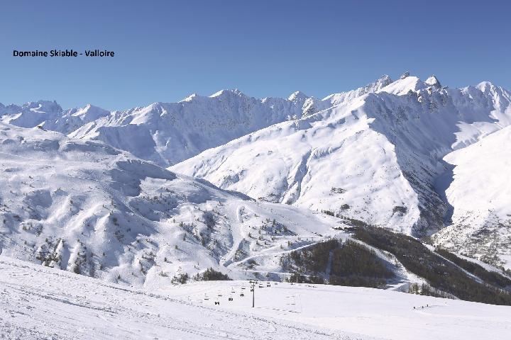 Wakacje w górach Résidence les Bergers - Valloire - Zima na zewnątrz
