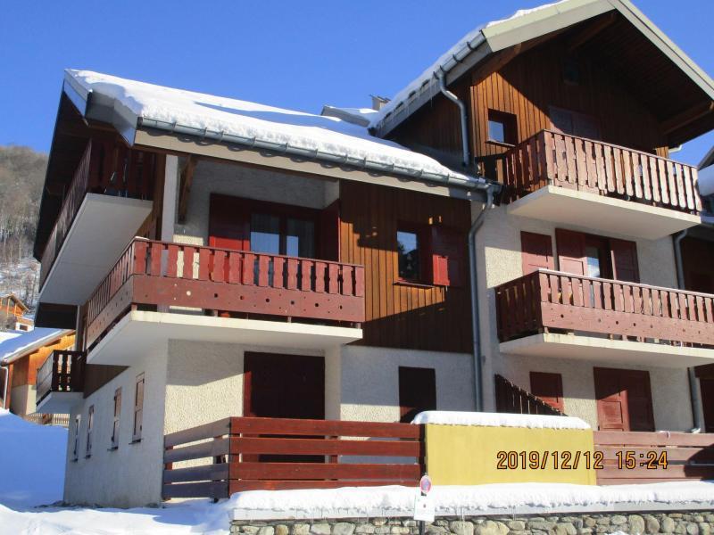 Аренда на лыжном курорте Résidence les Choseaux - Valloire - зимой под открытым небом