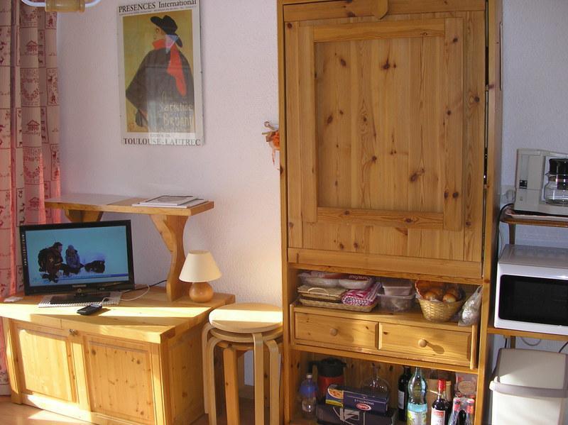 Аренда на лыжном курорте Квартира студия кабина для 3 чел. (06) - Résidence les Cordeliers - Valloire - апартаменты