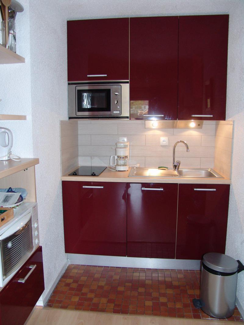 Аренда на лыжном курорте Апартаменты 2 комнат 4 чел. (C22) - Résidence Plan Soleil - Valloire - Небольш&