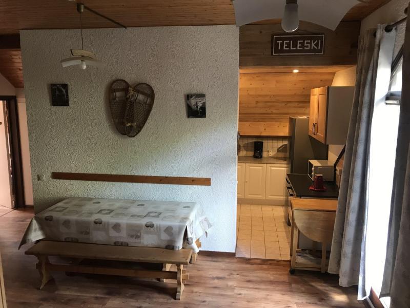 Аренда на лыжном курорте Апартаменты 2 комнат 6 чел. (O31) - Résidence Plan Soleil - Valloire