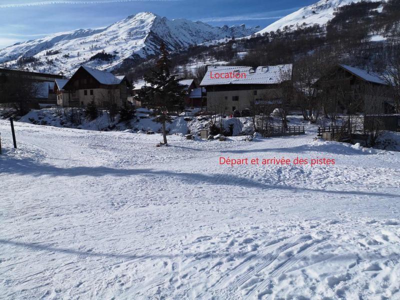 Аренда на лыжном курорте Апартаменты 2 комнат 4 чел. (D21) - Résidence Plan Soleil - Valloire