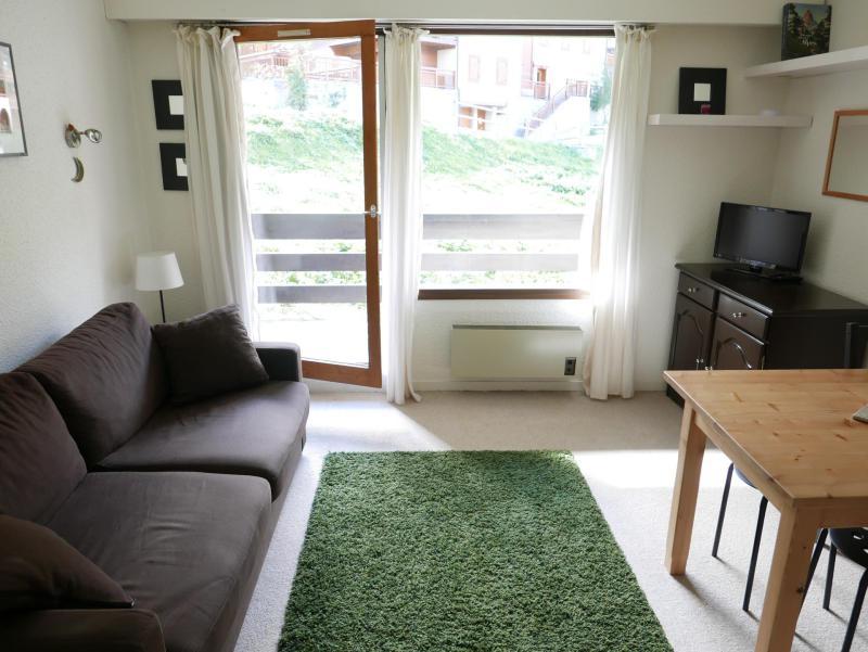 Аренда на лыжном курорте Квартира студия кабина для 4 чел. (D3) - Résidence Plan Soleil - Valloire - Салон