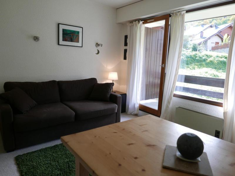 Аренда на лыжном курорте Квартира студия кабина для 4 чел. (D3) - Résidence Plan Soleil - Valloire - Стол