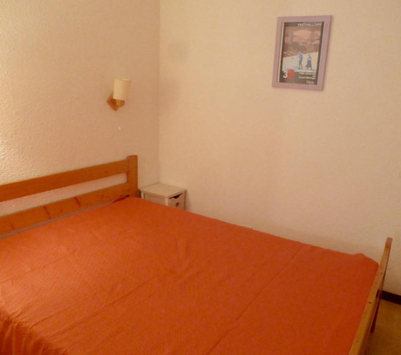 Аренда на лыжном курорте Квартира студия со спальней для 4 чел. (D4) - Résidence Plan Soleil - Valloire - Двухспальная кровать