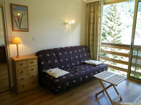 Аренда на лыжном курорте Квартира студия для 3 чел. (36) - Résidence Rapin - Valloire
