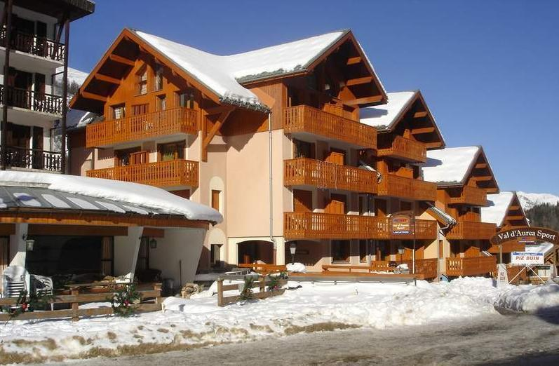 Аренда на лыжном курорте Résidence Rochechateau - Valloire - зимой под открытым небом