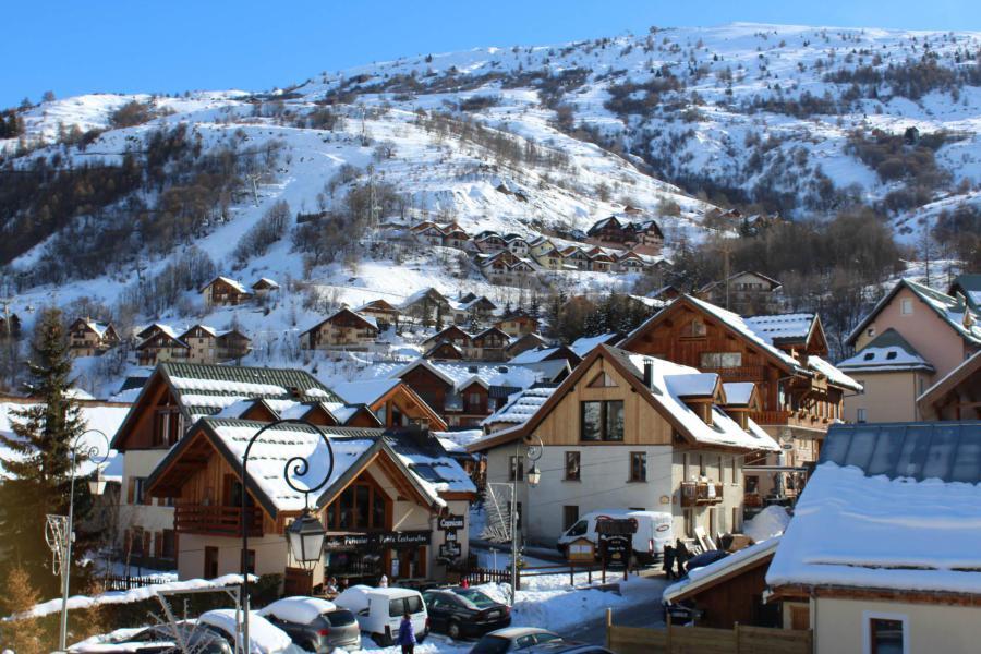 Аренда на лыжном курорте Апартаменты 2 комнат кабин 4 чел. (26) - Résidence Tigny - Valloire - зимой под открытым небом