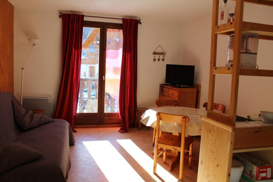 Location au ski Appartement 2 pièces cabine 4 personnes (26) - Résidence Tigny - Valloire - Séjour