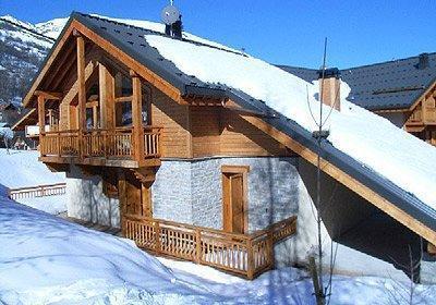 Location Valloire : Chalet Alpen Roc hiver