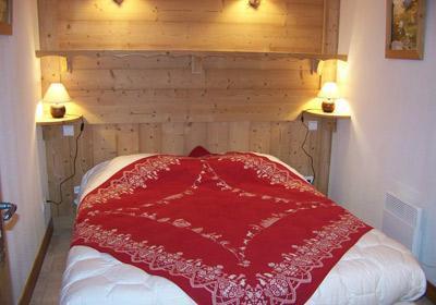 Location au ski Chalet 5 pièces mezzanine 10 personnes - Chalet Alpen Roc - Valloire - Chambre mansardée
