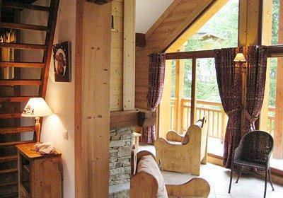 Location au ski Chalet 5 pièces mezzanine 10 personnes - Chalet Alpen Roc - Valloire - Séjour