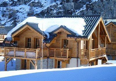 Location au ski Chalet Alpen Roc - Valloire - Extérieur hiver