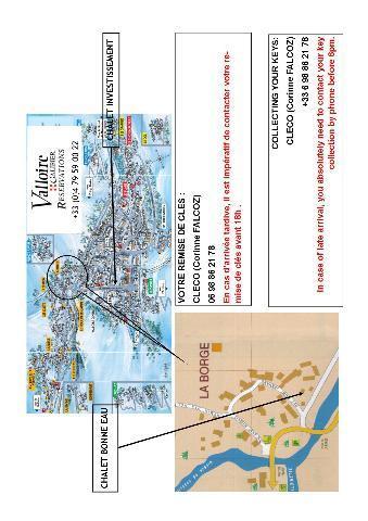 Location au ski Appartement 2 pièces cabine 4 personnes (1) - Chalet Bonne Eau - Valloire - Plan