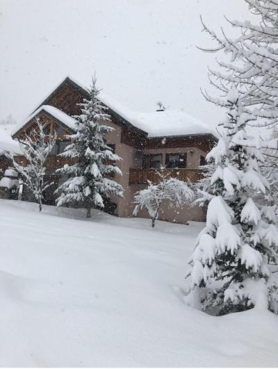 Аренда на лыжном курорте Chalet Colenfrey - Valloire - зимой под открытым небом