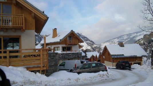 Location au ski Chalet La Taniere - Valloire - Extérieur hiver