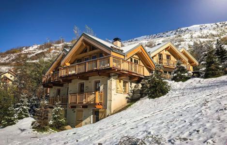 Location Valloire : Chalet Le Chabichaz hiver