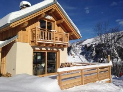 Location au ski Appartement 5 pièces 8 personnes (7) - Chalet Le Clot Benjamin - Valloire - Extérieur hiver