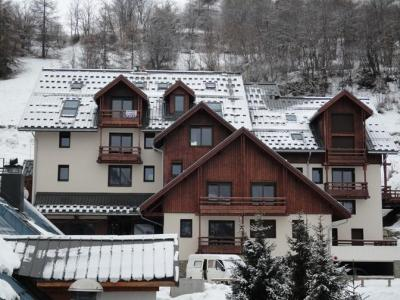 Location 8 personnes Appartement 2 pièces cabine mezzanine 8 personnes (05) - Chalet Le Rocher