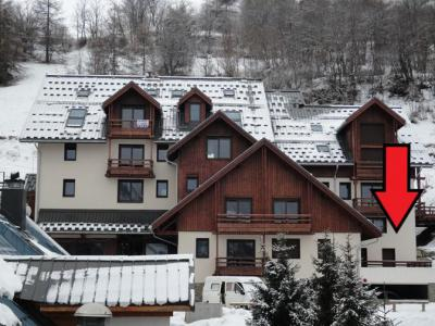 Rent in ski resort 2 room apartment 6 people (SUITE3) - Chalet le Rocher - Valloire