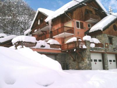 Location au ski Chalet Les Ancolies - Valloire - Extérieur hiver