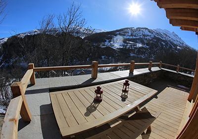 Location Valloire : Chalet Les Clots hiver
