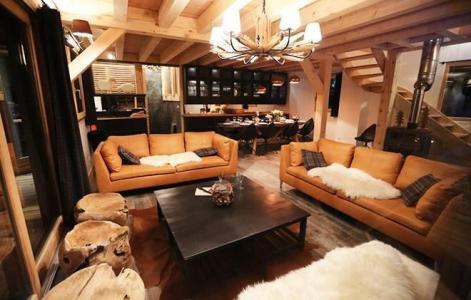 Аренда на лыжном курорте Chalet les Clots - Valloire - Салон