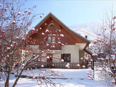 Location au ski Chalet Les Ecrins - Valloire - Extérieur hiver