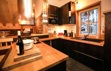 Rent in ski resort Chalet Les Lions Blancs - Valloire - Kitchen
