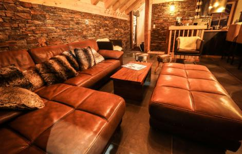 Rent in ski resort Chalet Les Lions Blancs - Valloire - Living area
