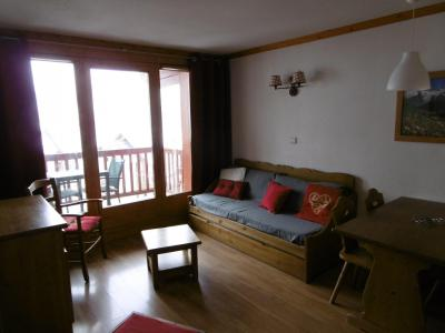 Rent in ski resort 2 room apartment 4 people (202) - Chalets de la Vallée d'Or Edelweiss - Valloire - Bed-settee