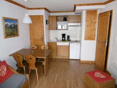 Rent in ski resort 2 room apartment 4 people (202) - Chalets de la Vallée d'Or Edelweiss - Valloire - Kitchenette