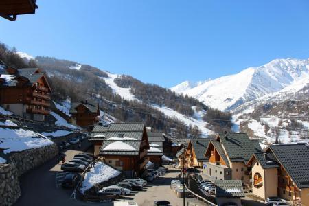 Rent in ski resort 2 room apartment 4 people (202) - Chalets de la Vallée d'Or Edelweiss - Valloire - Winter outside