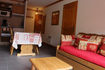 Rent in ski resort 2 room apartment 4 people (302) - Chalets de la Vallée d'Or Pensée - Valloire - Sofa-bed