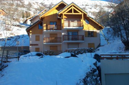 Location au ski Chalets Du Pontet - Valloire - Extérieur hiver