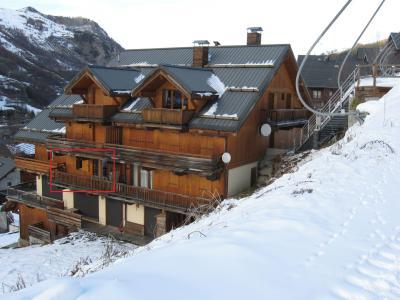 Аренда на лыжном курорте Апартаменты 2 комнат 4 чел. (302) - Le Hameau de Vallée d'Or - Valloire